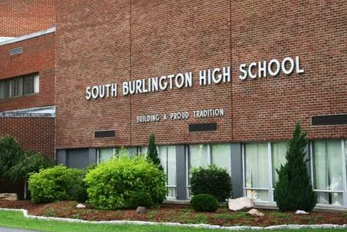 burlington school district building